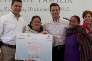Programas sociales de Zacatecas