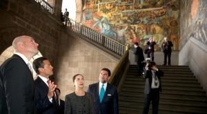 Recorrido en el Palacio Nacional