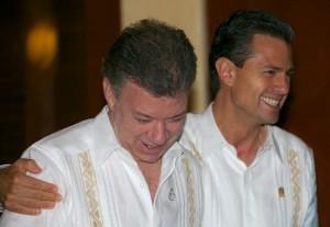 Lazos de amistad con Juan Manuel Santos, Presidente de Colombia