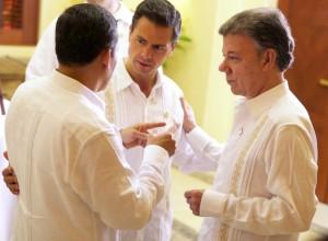 Diálogo con mis homólogos de Perú y Colombia