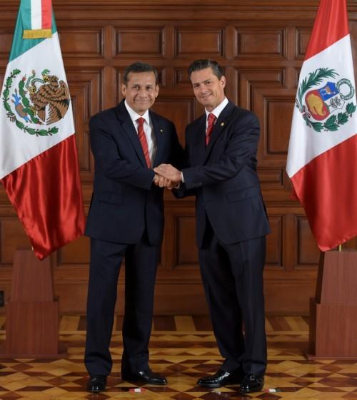 Con el Presidente Humala