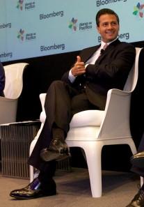 En el foro organizado por la Agencia Bloomberg