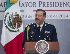 General Roberto Miranda, Jefe del EStado Mayor Presidencial