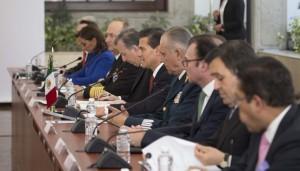 Reunión de trabajo de Presidentes y comitivas