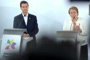 Mensaje a medios, con la señora Bachelet